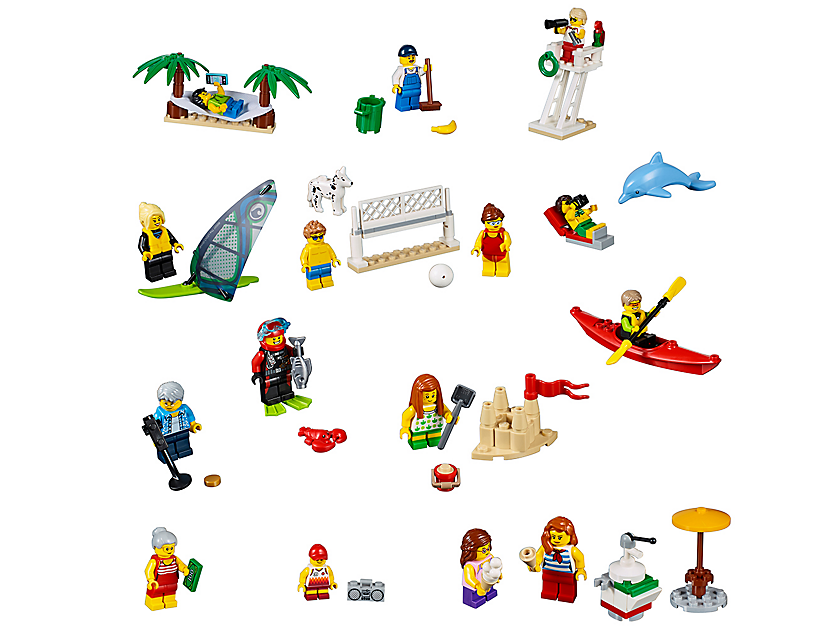 Lego People Pack Fun At The Beach