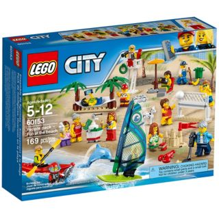 Ensemble de figurines LEGO City - La plage