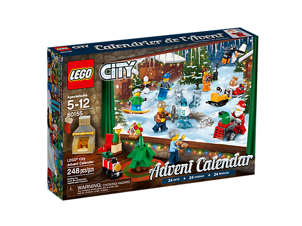Put a little fun into the holidays with the LEGO® City Advent Calendar! Includes a range of buildable items and vehicles, plus 6 minifigures.