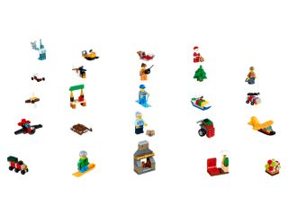 Le calendrier de l'Avent LEGO® City