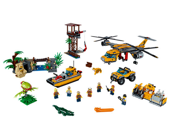 Jungle Air Drop Helicopter 60162 City Lego Shop