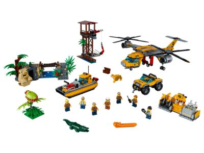 Jungle Air Drop Helicopter - 60162   City   LEGO Shop