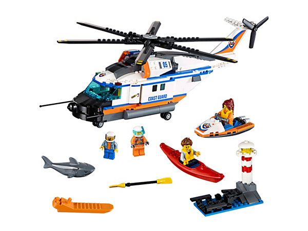 Heavy Duty Rescue Helicopter 60166 City Lego Shop