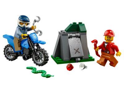 La poursuite en moto tout-terrain