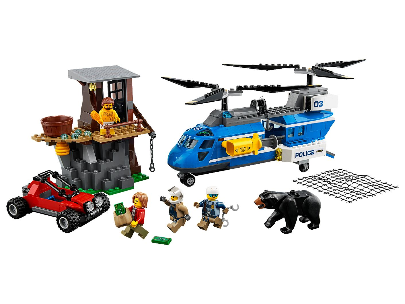 Mountain Arrest 60173 | City | Buy online at the Official LEGO® Shop US