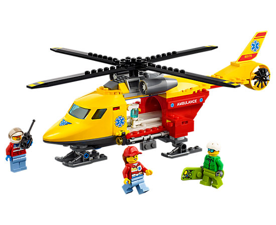 Ambulance Helicopter 60179 City Lego Shop