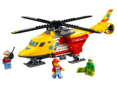 L'hélicoptère-ambulance