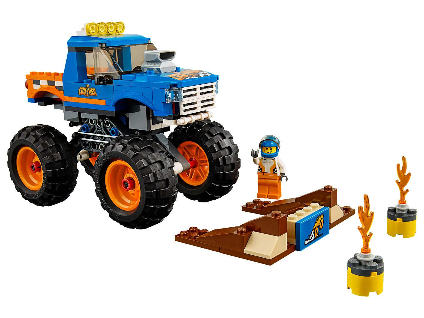 Monster Truck 60180 | City | Buy online at the Official LEGO® Shop US