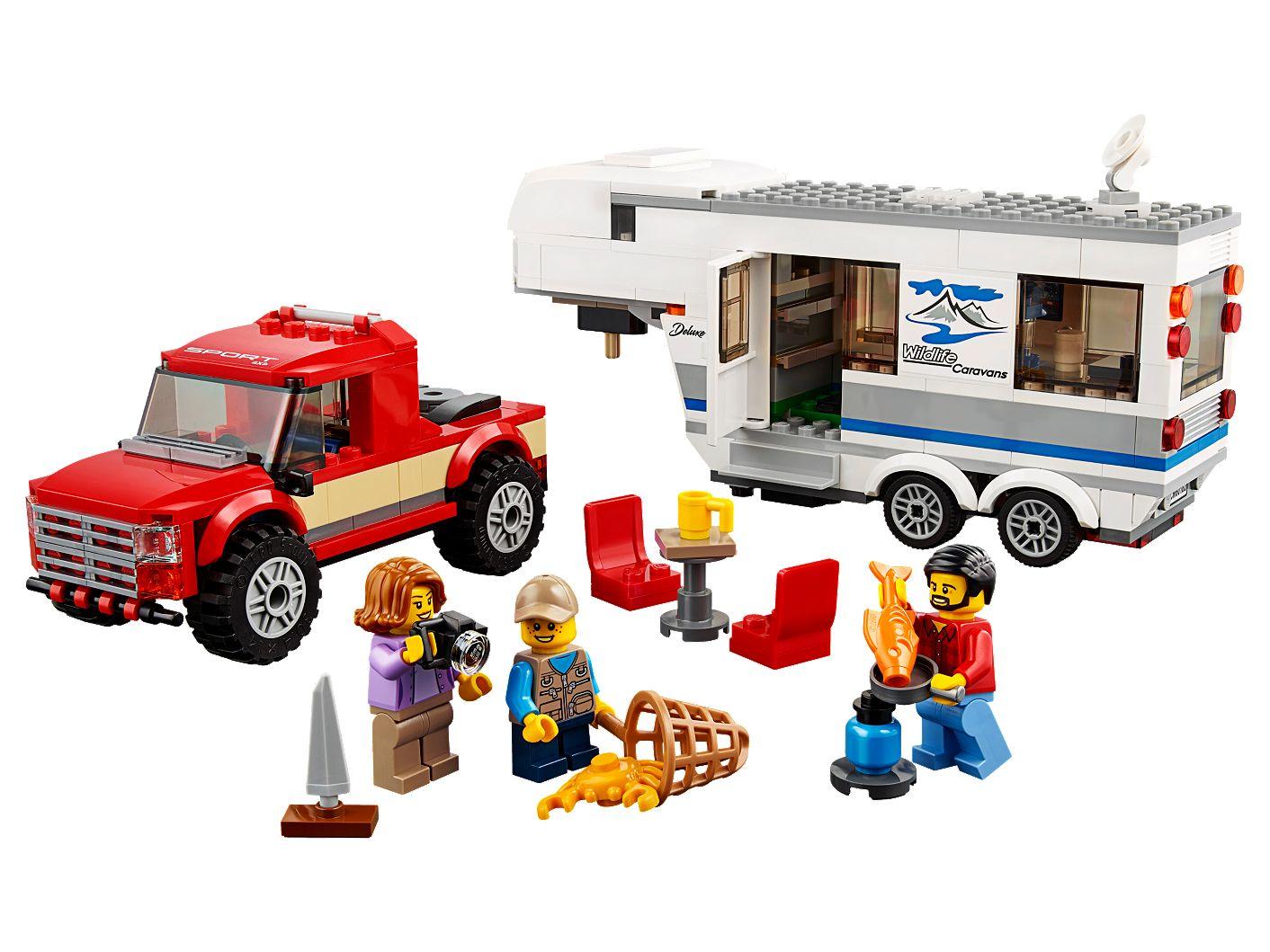 Pickup Z Przyczepą 60182 City Lego Shop