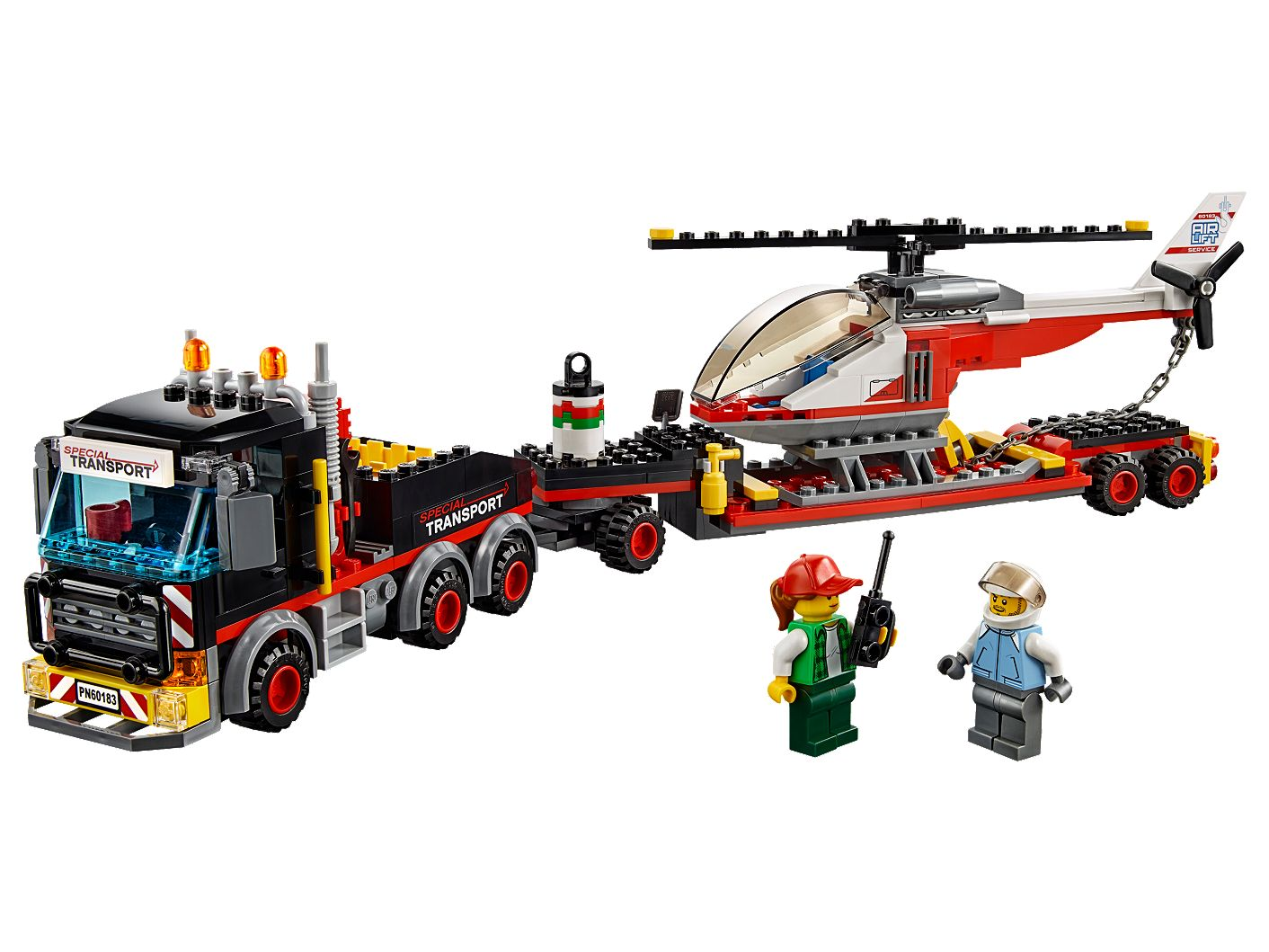 Heavy Cargo Transport 60183 | City | Buy online at the Official LEGO® Shop US