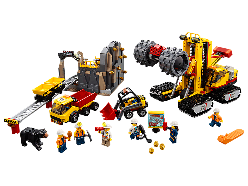 Bergbauprofis