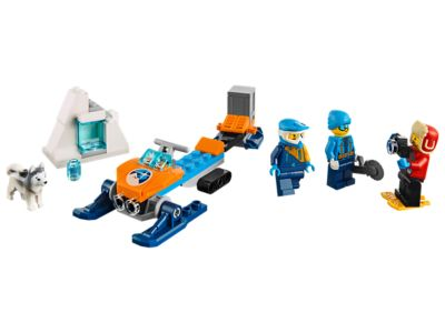 Lego Minifig Camera : Arctic exploration team city lego shop