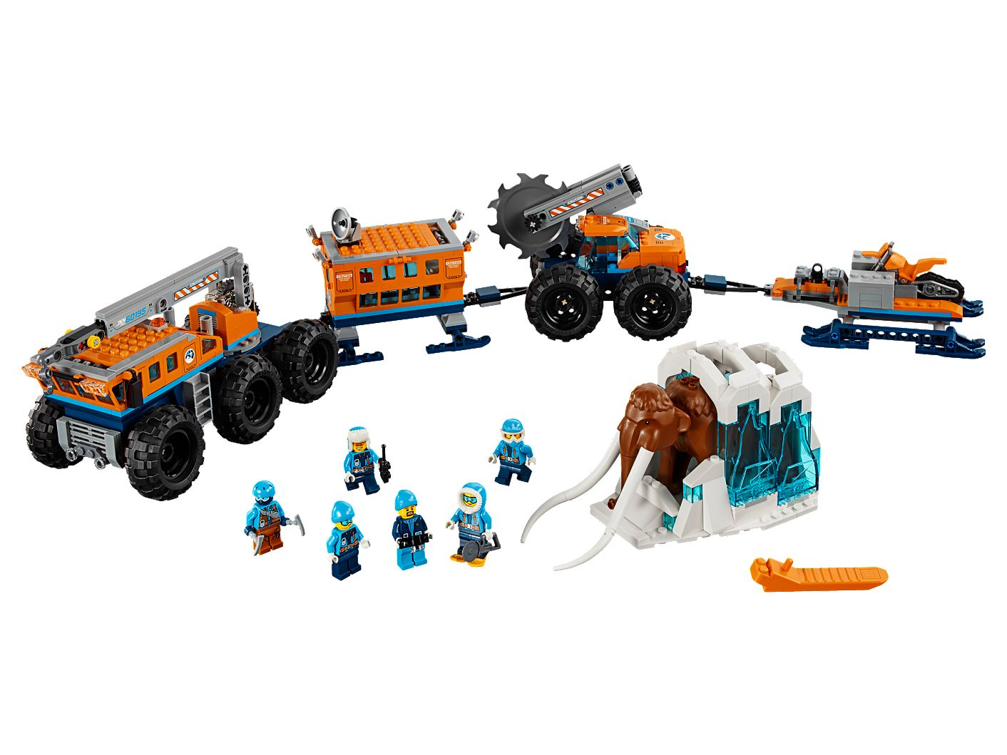 Arctic Mobile Exploration Base 60195 | City | Buy online at the Official LEGO® Shop US