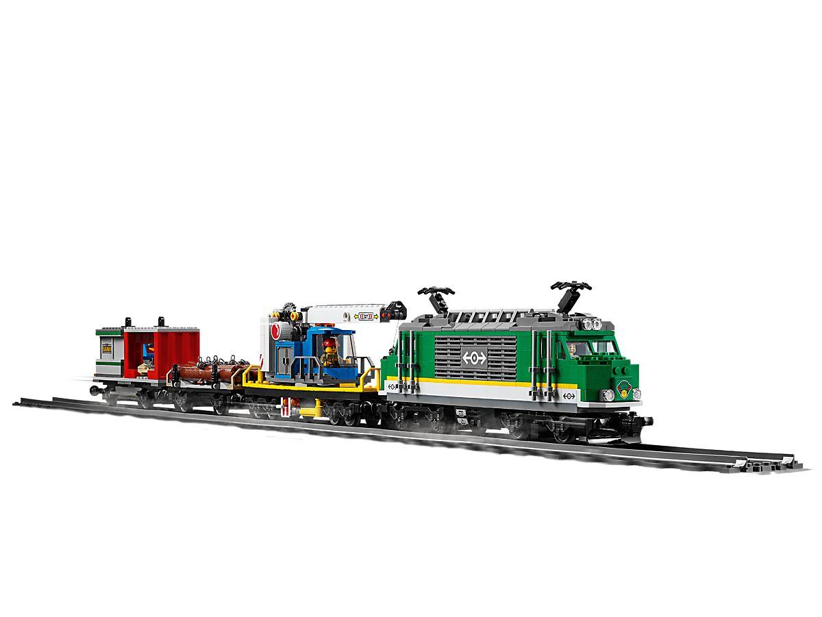 Pociąg Towarowy 60198 City Lego Shop
