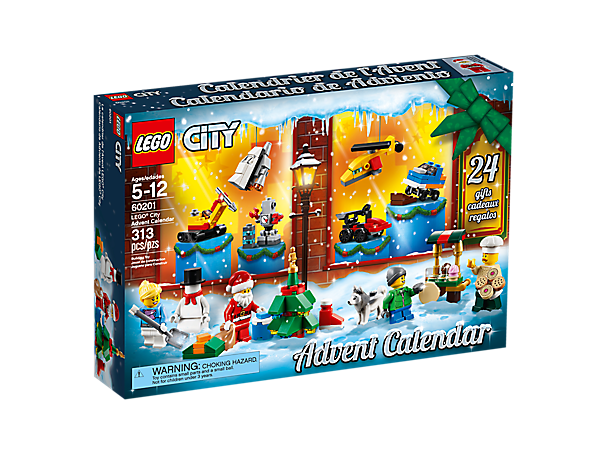 Add more fun to the holidays with the new LEGO® City Advent Calendar, featuring a range of buildable gifts, plus 5 minifigures and a dog figure.
