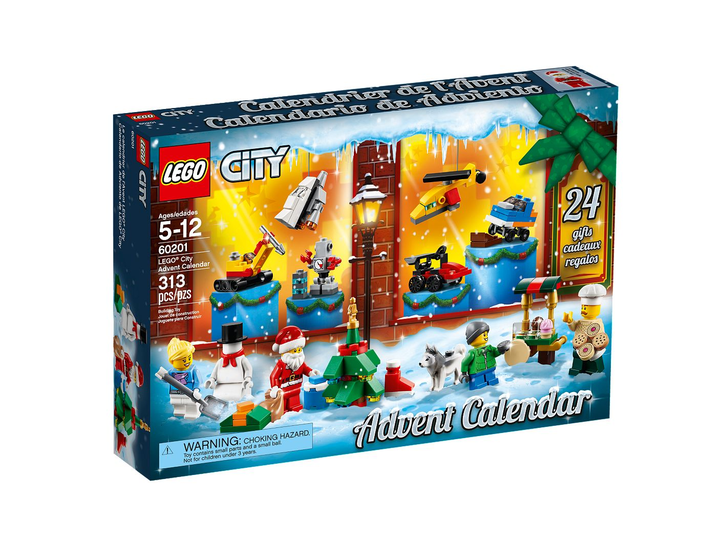 LEGO® City Advent Calendar 60201 | City | Buy online at the Official LEGO® Shop US