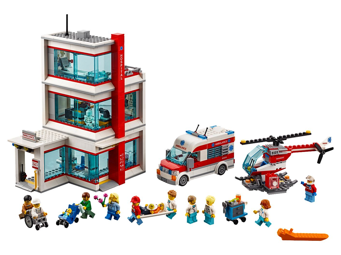 LEGO® City Hospital 60204 | City | Buy online at the Official LEGO® Shop US
