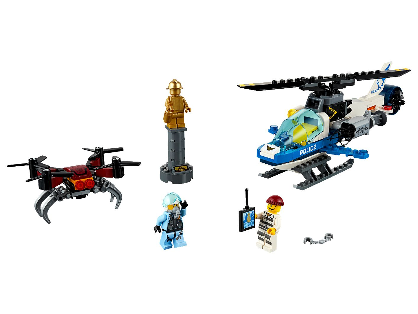 Sky Police Drone Chase 60207 City Lego Shop