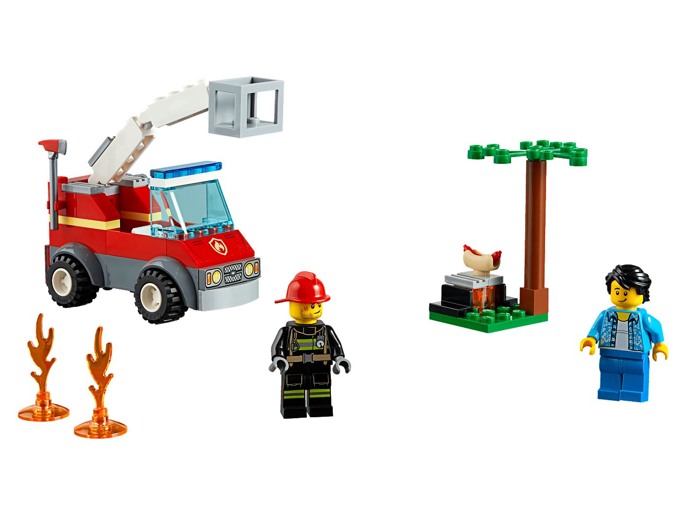 Barbecue Burn Out 60212 | City | Buy online at the Official LEGO® Shop US