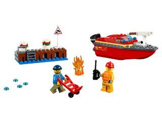 Feuerwehr am Hafen