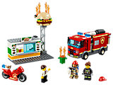 Burger Bar Fire Rescue