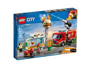 Brand på burgerbaren