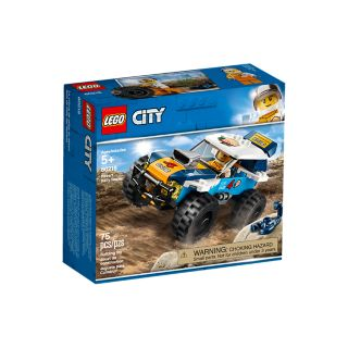 Woestijn rallywagen