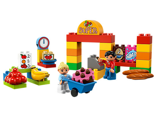 My First Lego Duplo Supermarket 6137 Duplo Lego Shop