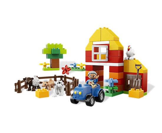 lego duplo farm instructions 5649