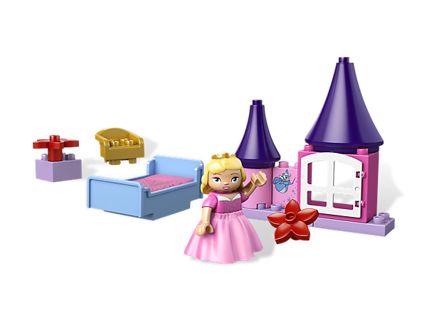 Recreate a Disney Princess fairy tale with LEGO® DUPLO® bricks and build Sleeping Beauty's Room complete with a bed and fairy godmother brick!