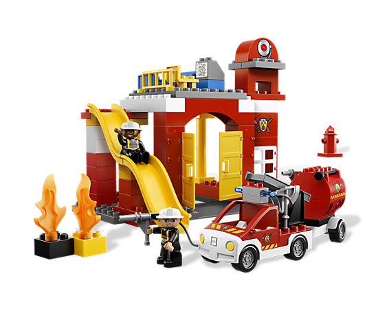 fire station 6168 duplo lego shop. Black Bedroom Furniture Sets. Home Design Ideas