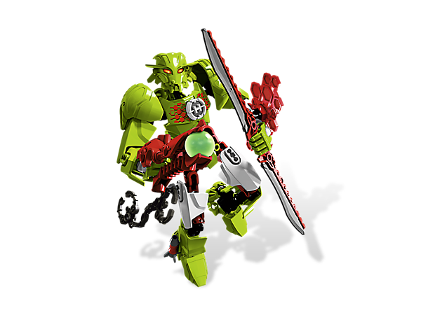 BREEZ is armed and ready to recapture the villains with rocket boots, a double-bladed saber, plasma shooter and a hex energy shield!