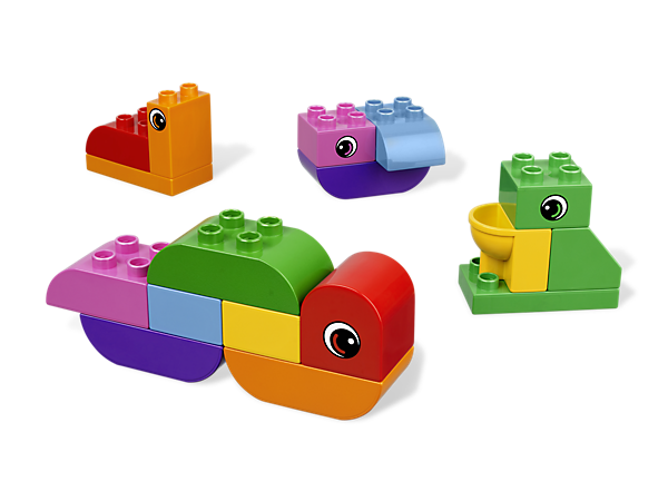 Begin with a book, and build with the LEGO DUPLO bricks as your child listens along to the newest Bricks & Books set– Grow Caterpillar Grow!