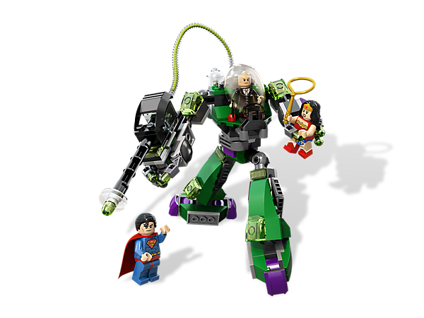 <p>Help <i>Superman</i>™ to free <i>Wonder Woman</i> by overpowering <i>Lex Luthor's kryptonite</i> robot and strength-sapping <i>kryptonite</i> gun!</p>