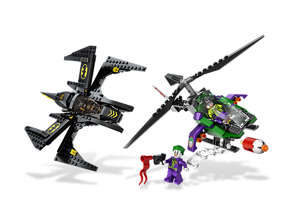 <p>Take the battle to the air as <i>Batman</i>™ and the Batwing face off against <i>The Joker</i>™ in his helicopter to defend <i>Gotham City</i>!</p>