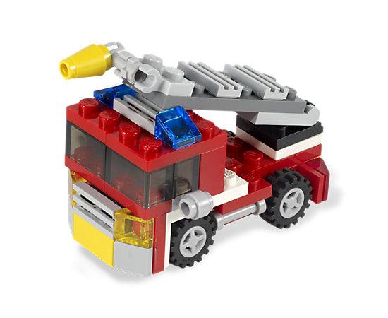 Mini Fire Truck 6911 Creator 3 In 1 Lego Shop