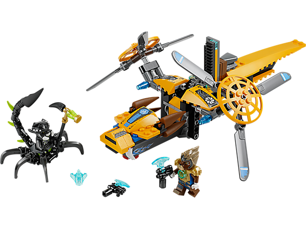 Explore product details and fan reviews for buildable toy Lavertus' Twin Blade 70129 from Chima. Buy today with The Official LEGO® Shop Guarantee.