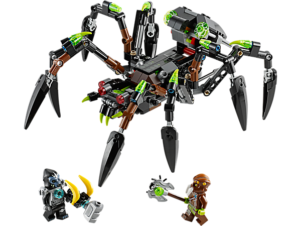 Explore product details and fan reviews for buildable toy Sparratus' Spider Stalker 70130 from Chima. Buy today with The Official LEGO® Shop Guarantee.