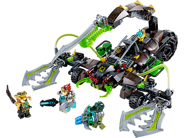 Explore product details and fan reviews for buildable toy Scorm's Scorpion Stinger 70132 from Chima. Buy today with The Official LEGO® Shop Guarantee.