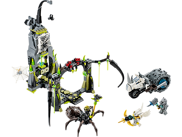 Explore product details and fan reviews for buildable toy Spinlyn's Cavern 70133 from Chima. Buy today with The Official LEGO® Shop Guarantee.