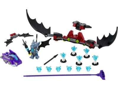 Explore product details and fan reviews for buildable toy Bat Strike 70137 from Chima. Buy today with The Official LEGO® Shop Guarantee.