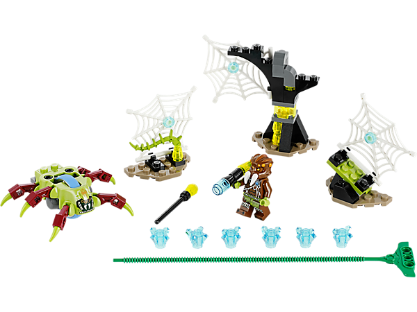 <div>Explore product details and fan reviews for buildable toy Web Dash 70138 from Chima. Buy today with The Official LEGO® Shop Guarantee.</div>