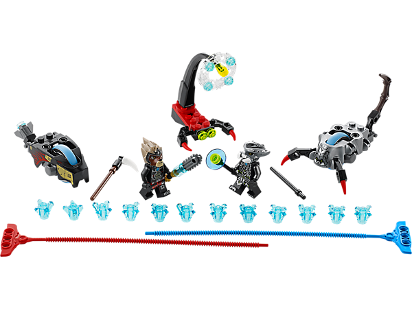 Explore product details and fan reviews for buildable toy Stinger Duel 70140 from Chima. Buy today with The Official LEGO® Shop Guarantee.