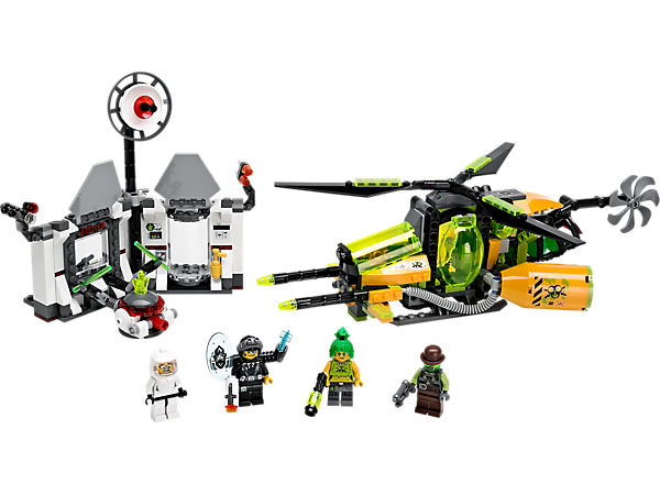 LEGO, 70163, Toxikita's Toxic Meltdown, Agents, LEGO Shop, buildable set, educational toy, shop.LEGO