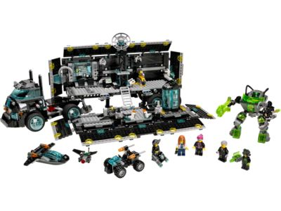 Explore product details and fan reviews for buildable toy Ultra Agents Mission HQ 70165 from Agents. Buy today with The Official LEGO® Shop Guarantee.
