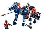 Le cheval-robot de Lance