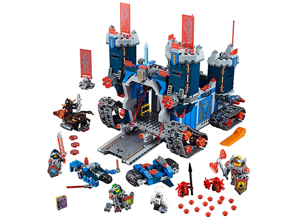 Explore product details and fan reviews for The Fortrex 70317 from LEGO® NEXO KNIGHTS™. Buy today with The Official LEGO® Shop Guarantee.