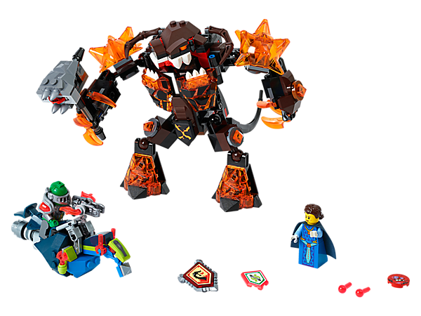 Explore product details and fan reviews for Infernox Captures the Queen 70325 from LEGO® NEXO KNIGHTS™. Buy today with The Official LEGO® Shop Guarantee.