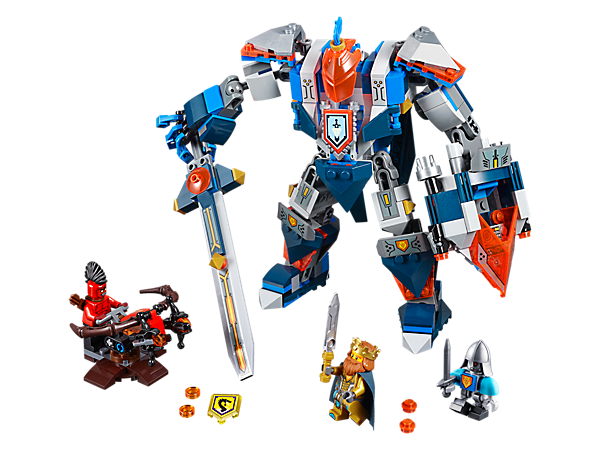 Explore product details and fan reviews for The King's Mech 70327 from LEGO® NEXO KNIGHTS™. Buy today with The Official LEGO® Shop Guarantee.