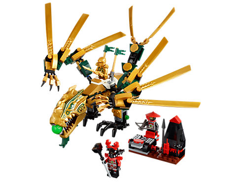 the golden dragon 70503 ninjago lego shop